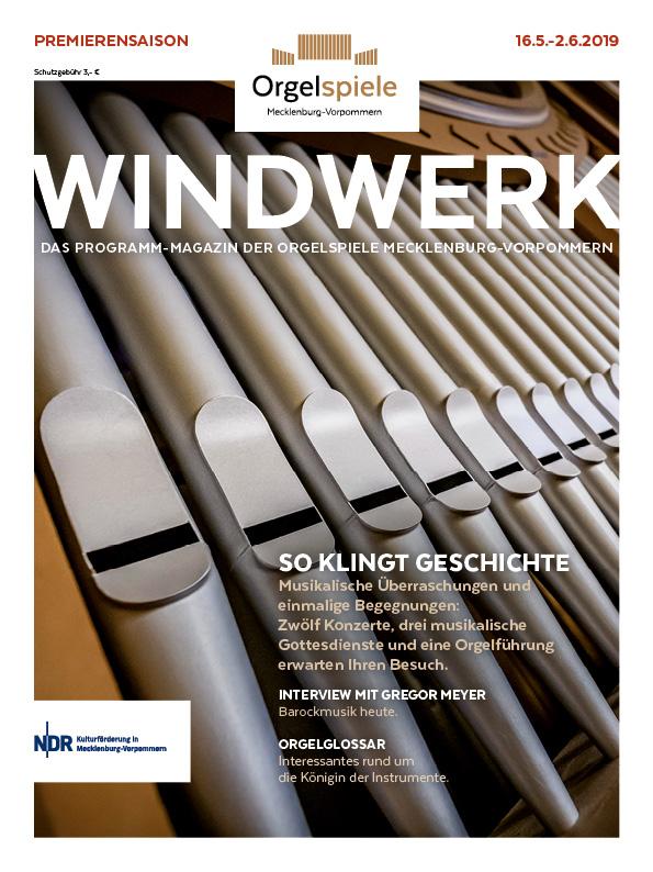 Das Magazin der Orgelspiele