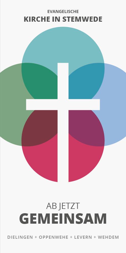 Titel eines Infoflyers der Kirche in Stemwede